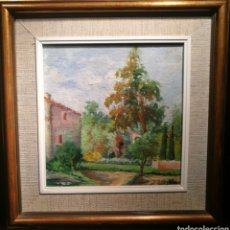Arte: PAISAJE POR TOMÁS BERGADA (1862-1937). Lote 144133412