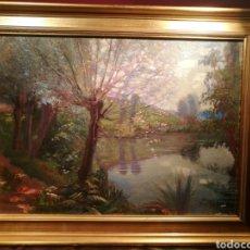 Arte: LA RIERA POR IU PASCUAL (1883-1949). Lote 144134290