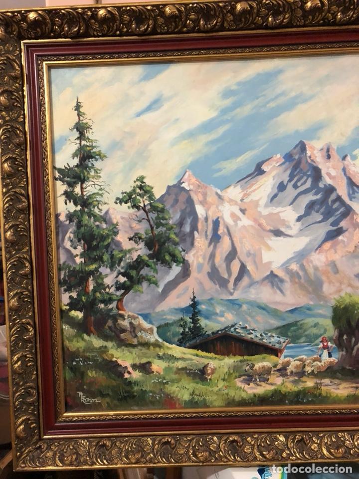 Arte: Bonito óleo sobre lienzo, paisaje, buen tamaño - Foto 2 - 144151612