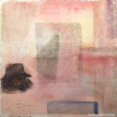 Arte: CÉSAR OTERO (FERROL, 1952 - A CORUÑA, 2004) BARCO. TÉCNICA MIXTA SOBRE PAPEL. Lote 144367774