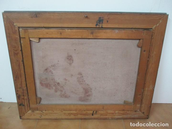Arte: Óleo sobre Tela - Antonio Aragó (Castellón de la Plana 1883 - Olot 1959) - Paisaje -Escuela Catalana - Foto 8 - 144447370