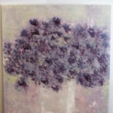 Arte: HORTENSIAS,PINTURA CONTEMPORÁNEA,CARIDAD SICILIA,ACRÍLICO SOBRE TABLA,DIMENSIONES 60 X 50 CM. Lote 144513518