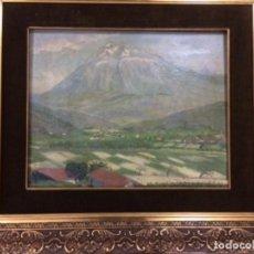 Arte: NICOLAS MUGICA (PAISAJE VASCO). Lote 144551622