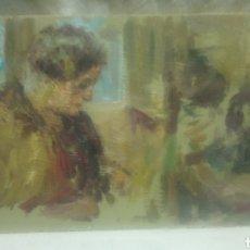 Arte - Abuela cosiendo (gran calidad) - 144568221