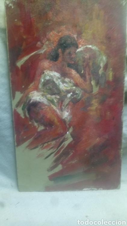 CHICA ACOSTADA (GRAN CALIDAD) (Arte - Pintura - Pintura al Óleo Contemporánea )
