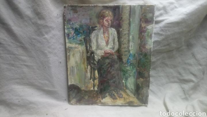 Arte: Sentada junto a la ventana (gran calidad) - Foto 2 - 144576368