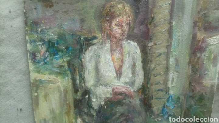 Arte: Sentada junto a la ventana (gran calidad) - Foto 3 - 144576368