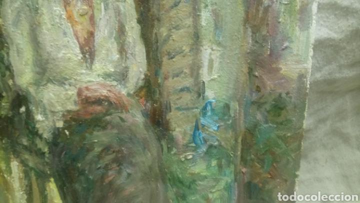 Arte: Sentada junto a la ventana (gran calidad) - Foto 5 - 144576368