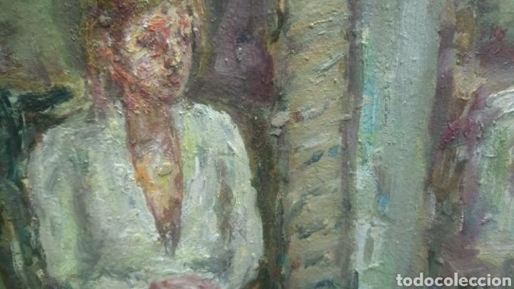 Arte: Sentada junto a la ventana (gran calidad) - Foto 6 - 144576368