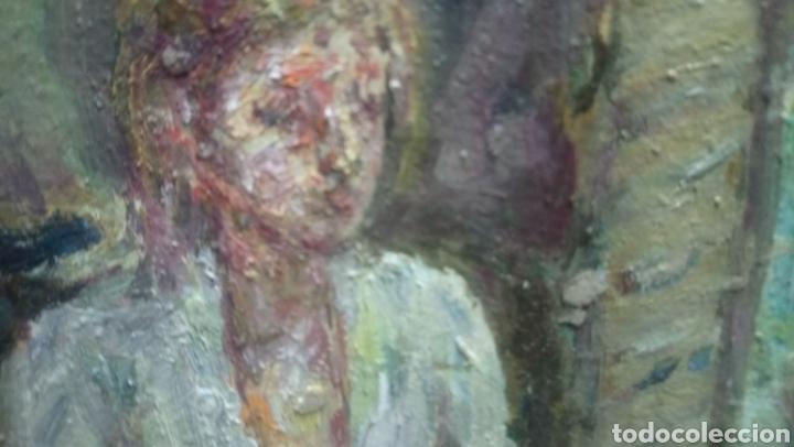 Arte: Sentada junto a la ventana (gran calidad) - Foto 7 - 144576368