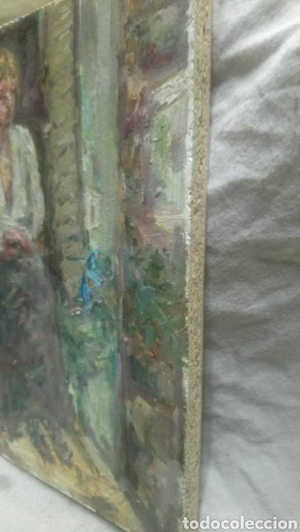 Arte: Sentada junto a la ventana (gran calidad) - Foto 8 - 144576368