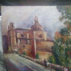 Arte: CAMINO HACIA LA CATEDRAL DE LA LUZ (GRAN CALIDAD). Lote 144580789