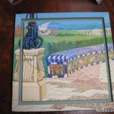 Arte: OLEO SOBRE TABLERO LA ENTRADA. Lote 144725734