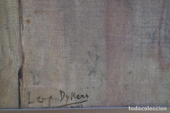 Arte: Bodegón de pájaros. Léopold Dykers (1860-1921) - Foto 7 - 140253898