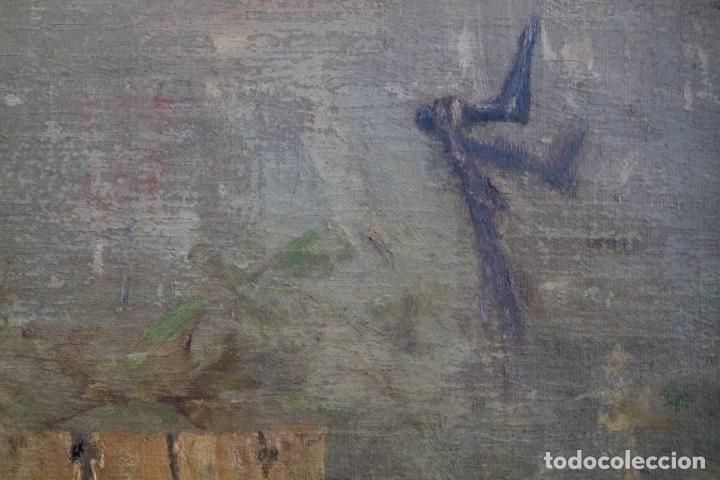 Arte: Bodegón de pájaros. Léopold Dykers (1860-1921) - Foto 4 - 140253898