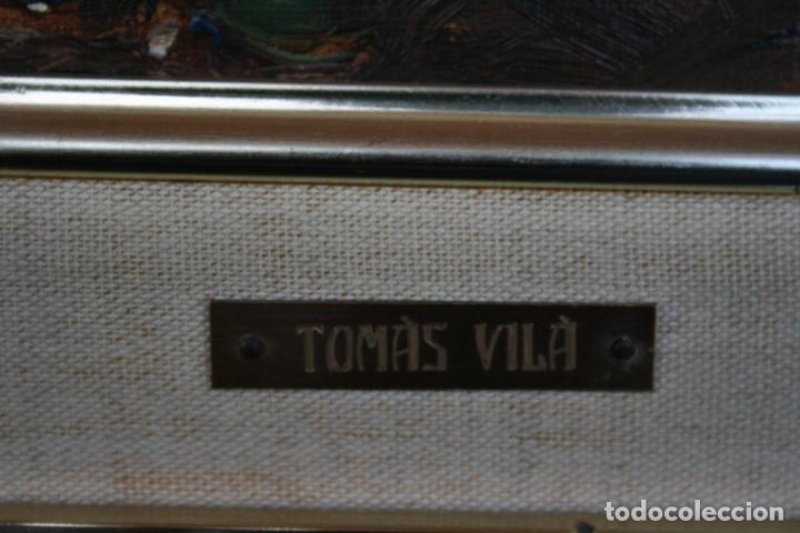 Arte: TOMAS VILA (La Cellera de Ter, Girona, 1952) PRECIOSO BOBEGON, OLEO SOBRE TELA, FIRMADO - Foto 5 - 144772950