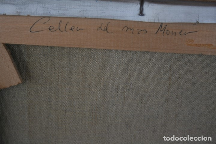Arte: TOMAS VILA (La Cellera de Ter, Girona, 1952) PRECIOSO BOBEGON, OLEO SOBRE TELA, FIRMADO - Foto 10 - 144772950