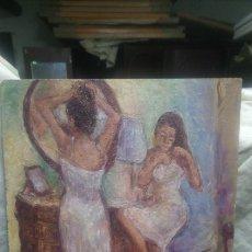 Arte: CHICAS EN EL TOCADOR (GRAN CALIDAD). Lote 144807769