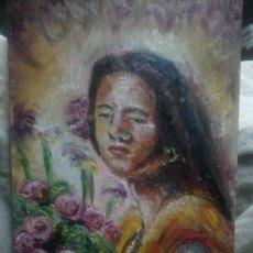 Arte: UNA CHICA DEL SUR (GRAN CALIDAD). Lote 144807981