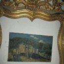 Arte: ANTIGUA PINTURA IMPRESIONISTA OLEO EN LIENZO 1913 JOSE AZNAR NACIDO ALICANTE. Lote 145098158