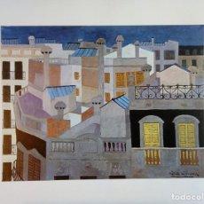 Arte - NURIA LLIMONA * XEMENEIES * Exposición Barcelona vista por diez pintoras 1975 - 145186086
