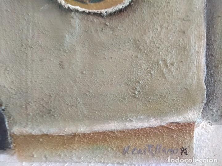 Arte: Estructura. Vicente Castellano. 1992. Técnica mixta. - Foto 4 - 145236566