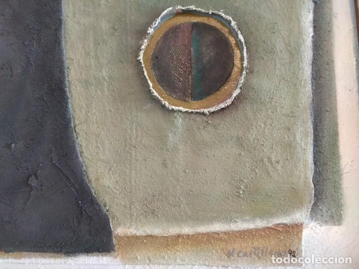 Arte: Estructura. Vicente Castellano. 1992. Técnica mixta. - Foto 5 - 145236566