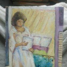 Arte: EL TE JUNTO A LA VENTANA (GRAN CALIDAD). Lote 145355209