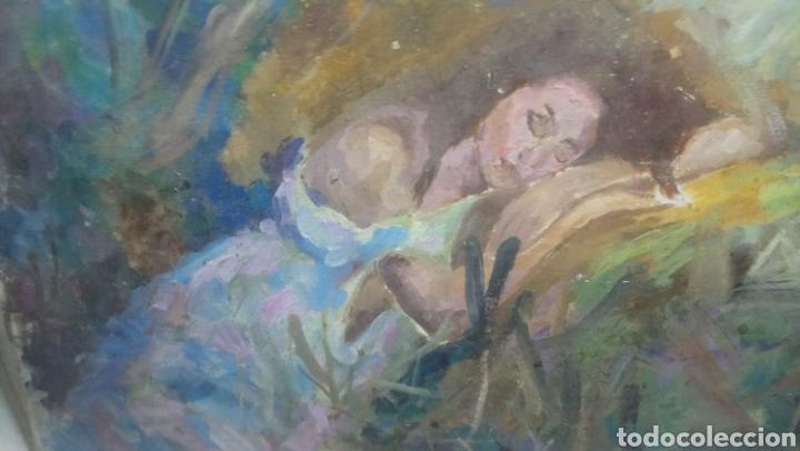Arte: Mujer descansando (gran calidad) - Foto 3 - 145380090
