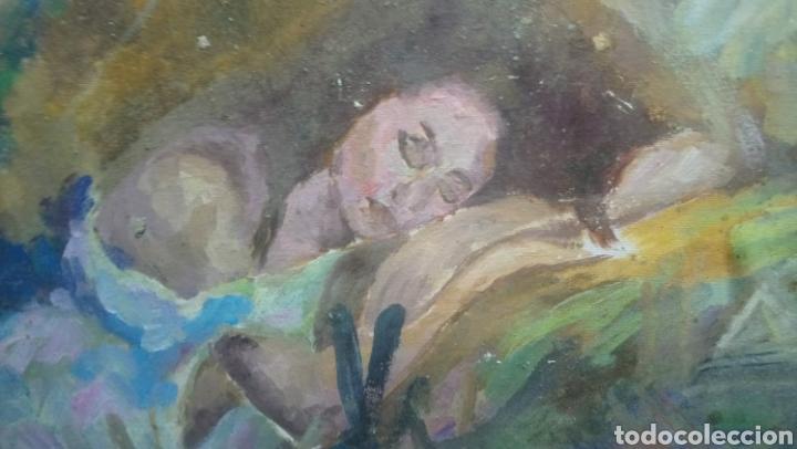 Arte: Mujer descansando (gran calidad) - Foto 4 - 145380090