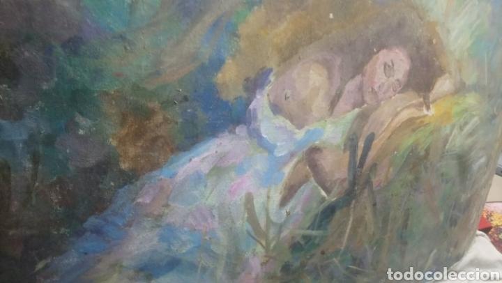 Arte: Mujer descansando (gran calidad) - Foto 6 - 145380090