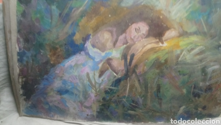 Arte: Mujer descansando (gran calidad) - Foto 7 - 145380090