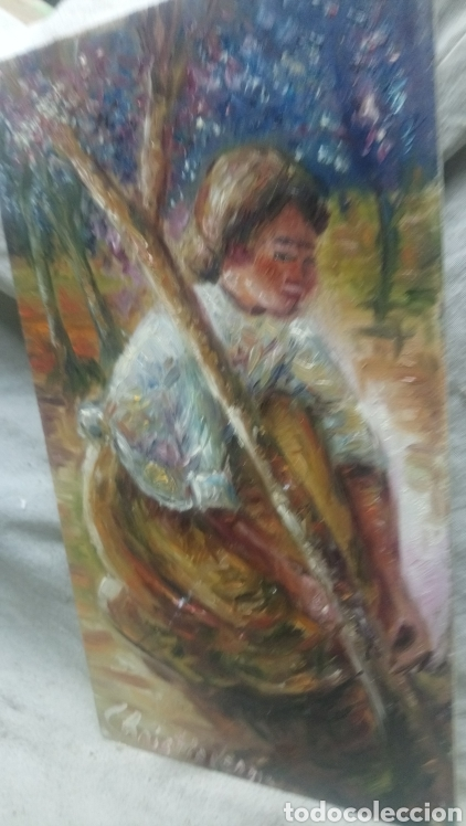 Arte: Junto al arbol(gran calidad) - Foto 2 - 145380221