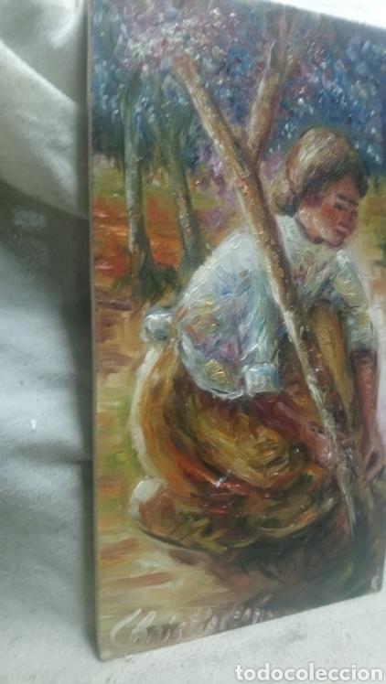 Arte: Junto al arbol(gran calidad) - Foto 3 - 145380221