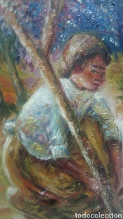 Arte: Junto al arbol(gran calidad) - Foto 4 - 145380221