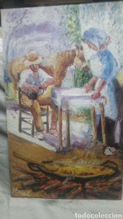 LOS PREPARATIVOS(GRAN CALIDAD) (Arte - Pintura - Pintura al Óleo Contemporánea )