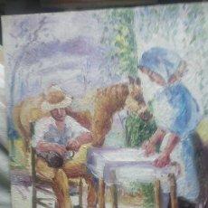 Arte: LOS PREPARATIVOS(GRAN CALIDAD). Lote 145380284