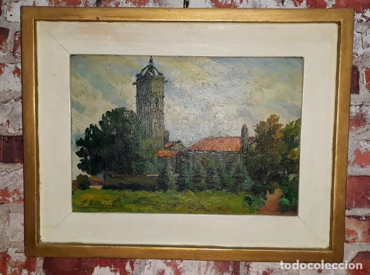 OLEO SOBRE TABLA - FIRMADO (Arte - Pintura - Pintura al Óleo Antigua sin fecha definida)