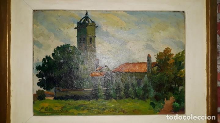 Arte: OLEO SOBRE TABLA - FIRMADO - Foto 2 - 145474106