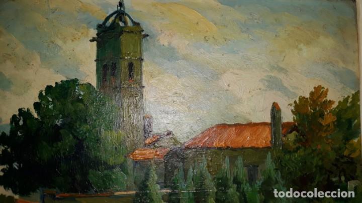 Arte: OLEO SOBRE TABLA - FIRMADO - Foto 5 - 145474106