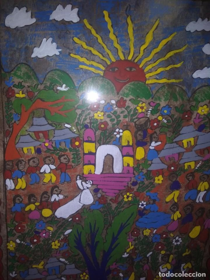 Pintura Acrílica Sobre Papel Arte Mexicano Pi Kaufen