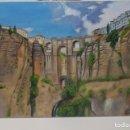 Arte: TAJO DE RONDA II. PAISAJE 55X33 HORIZONTAL. FIRMADO.. Lote 145588538