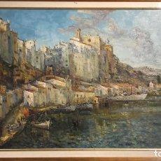 Arte: JOAN VIVES LLULL - PUERTO DE MAHÓN -. Lote 145591818