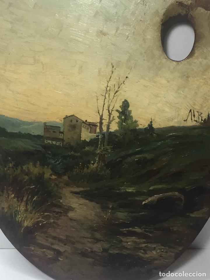 Arte: Paleta pintada al óleo y firmada JL Bellver - Foto 5 - 145659028