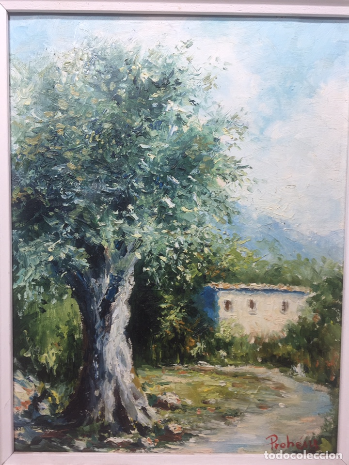 Arte: Óleo sobre tela de Onofre Prohens - Foto 4 - 145703696