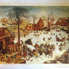 Arte: BRUEGHEL - EL EMPADRONAMIENTO DE BELÉN (REAL MUSEO DE LAS BELLAS ARTES DE BRUSELAS). Lote 145731266