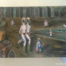Arte: RICHARD JELLERIER, BARCELONA 1993 - OLEO SOBRE LIENZO, FIRMADO.. Lote 145763074