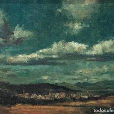 Arte: LLUÍS RIBAS - ÓLEO SOBRE TELA - FIRMADO . Lote 146070890