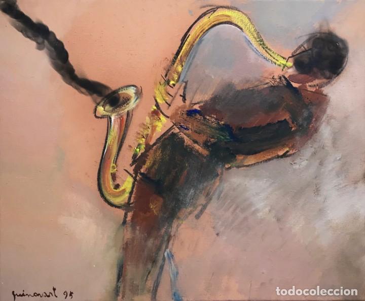 JOSEP GUINOVART (1927-2007) (Arte - Pintura - Pintura al Óleo Contemporánea )