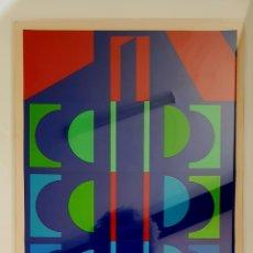 Arte: HANS AUGUST ANDERSEN (DINAMARCA 1926), MAGNÍFICA OBRA ABSTRACTA COLLAGE, FIRMADA.. Lote 146093670